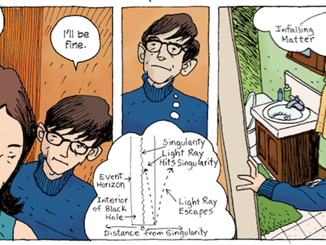 Stephen Hawking's Graphic Novel Biography Shows How He Saw the World—and the Universe