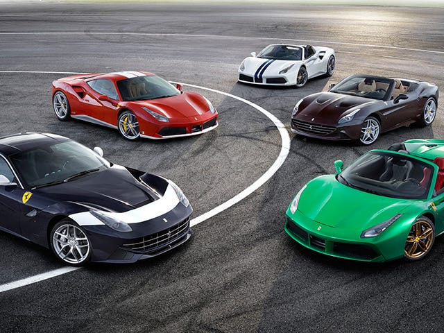 Nearly Every Single One Of Ferrari's Special 70th Anniversary Liveries Is Gorgeous