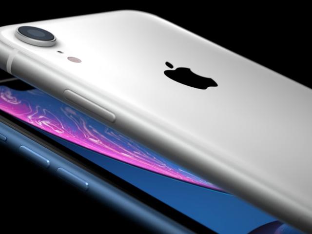 iPhone XR: Cuerpo de aluminio, Pantalla LCD-skjerm og en datamaskin med 749 doler