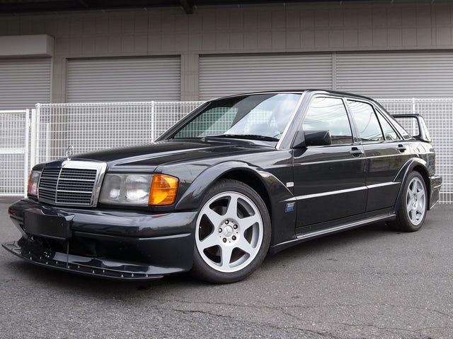 Voit omistaa tämän Mercedes 190 2.5-16V Evolution II: n matalalle, matalalle 279 000 dollarin hinnalle