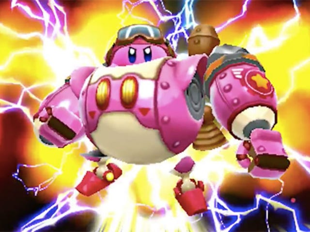 New 3DS Game Lets You Play As Kirby In A Mech Suit
