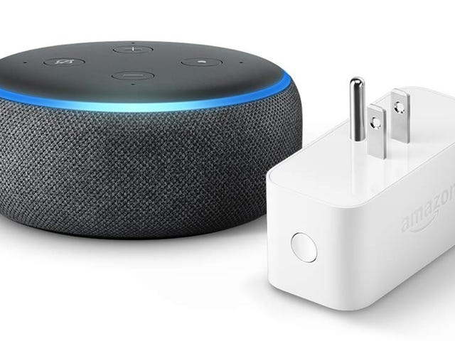 Get an Echo Dot and a Smart Plug For Less Than the Cost of the Echo Dot Alone