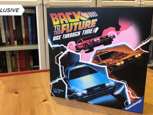 Our Exclusive First Look at the New Back to the Future Game Is Also Our Last Look, That's How Time Travel Works Right?