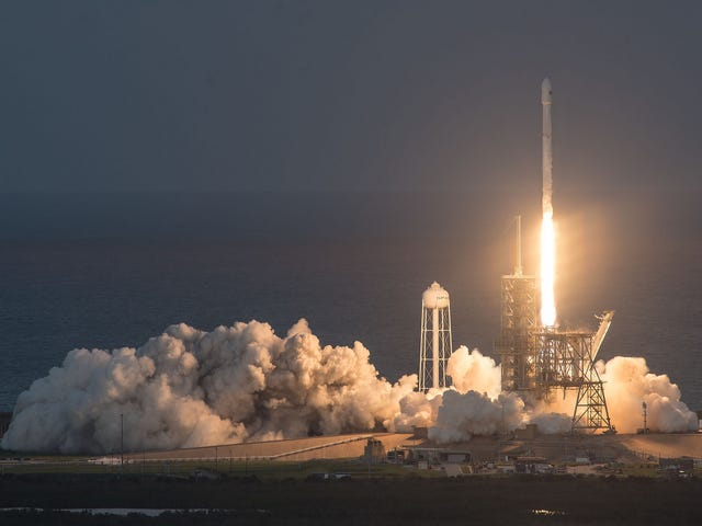 Watch the Historic SpaceX Reusable Rocket Launch Here