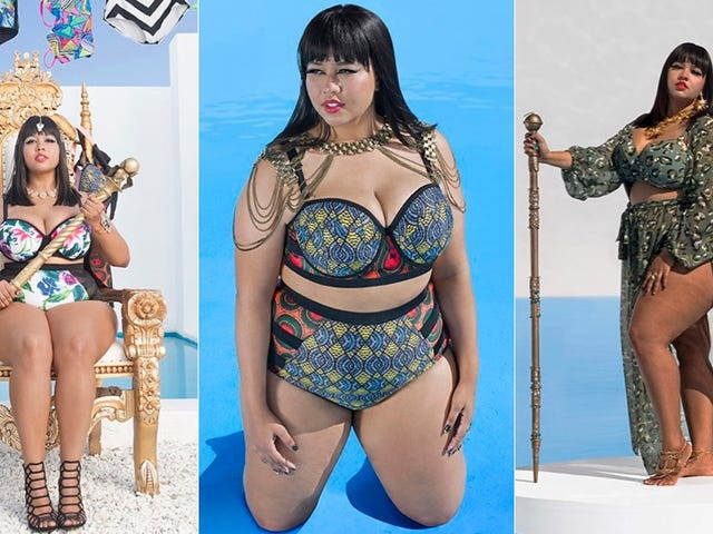 Look at These Cute as Hell Plus-Size Swimsuits