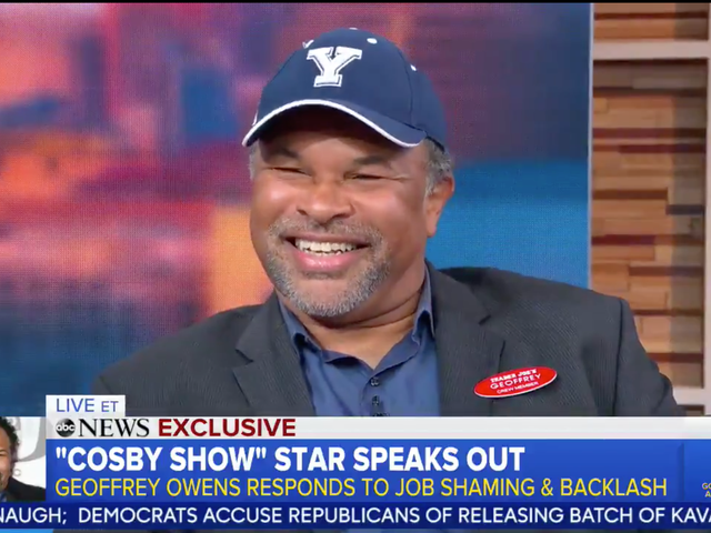 Geoffrey Owens: 'No One Should Feel Sorry For Me' For Working at Trader Joe's