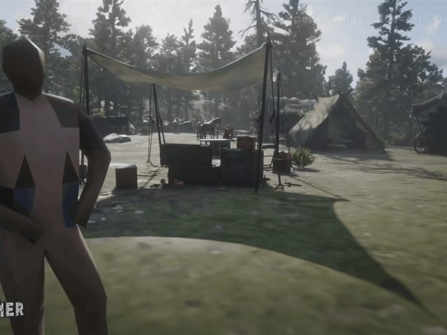 Red Dead Redemption 2 sur les paramètres les plus bas semble être venu du début des années 90