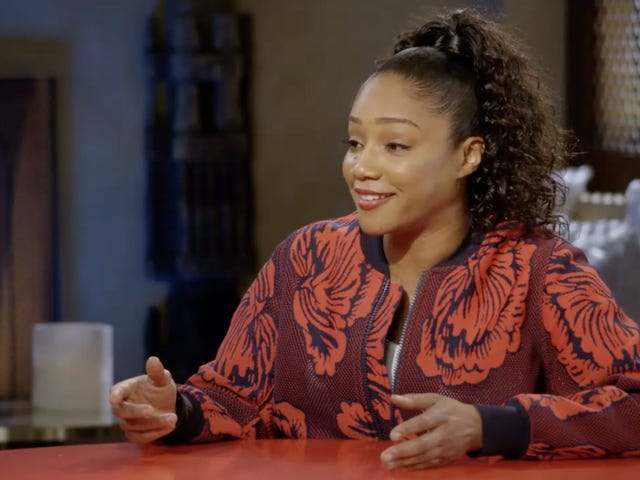 Real Table Talk: Tiffany Haddish Turned Jada's Red Table Into an Inspiration Station