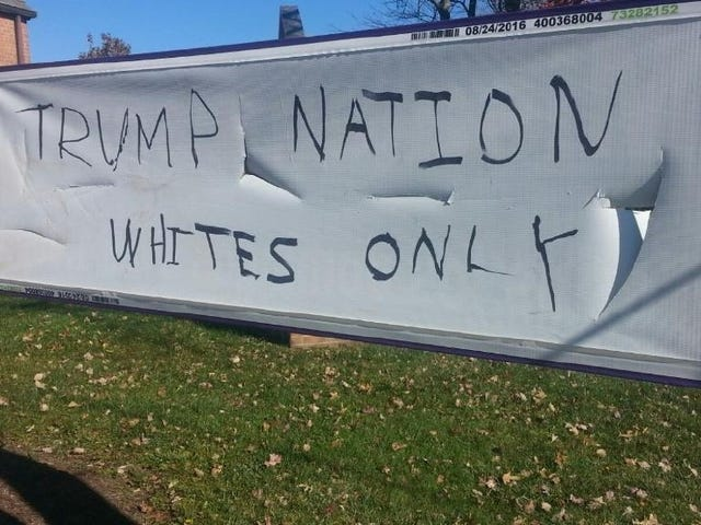 Les églises dans Ind., Md. Vandalized With Trump-Inspired Slurs