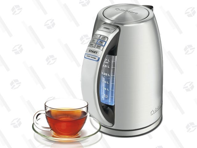 Brew Perfect Tea Every Time With Cuisinart's PerfecTemp Electric Kettle