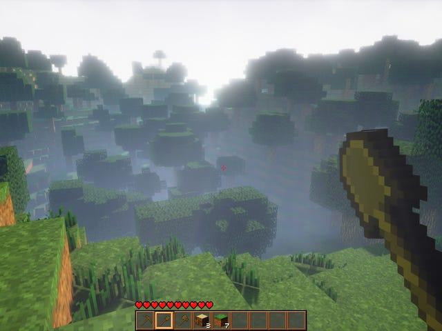 Unreal Engine 4 <i>Minecraft</i>パラメータの詳細