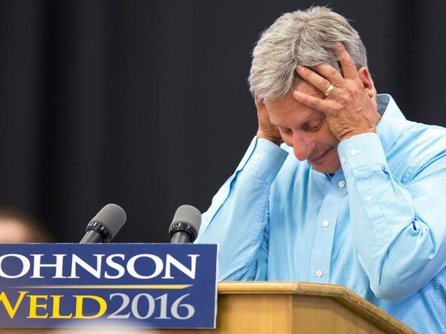 Gary Johnson Adalah 'Hanya Bersyukur Itu Tidak Ada Sakit' dalam Serangan yang Cedera 38