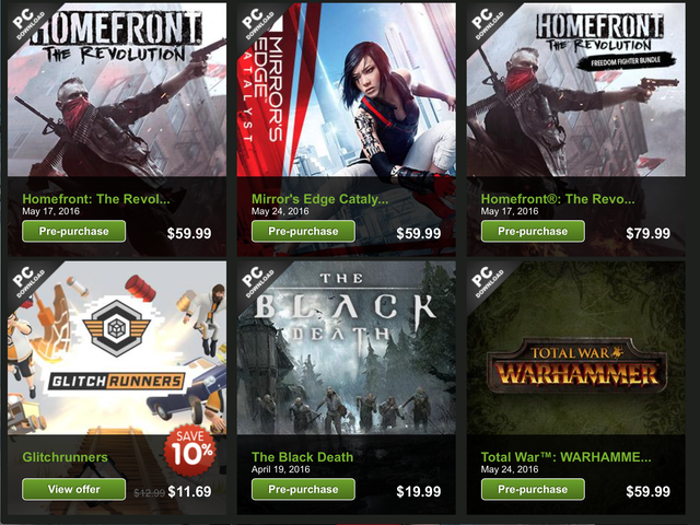 Mag-save ng Extra 25% sa isang Handful of Upcoming PC Games