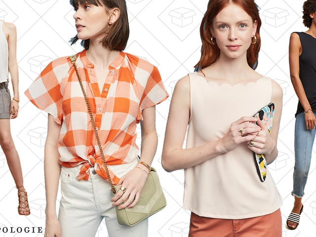 Anthropologie Is Marking Down Almost 70 Tops to Under $50