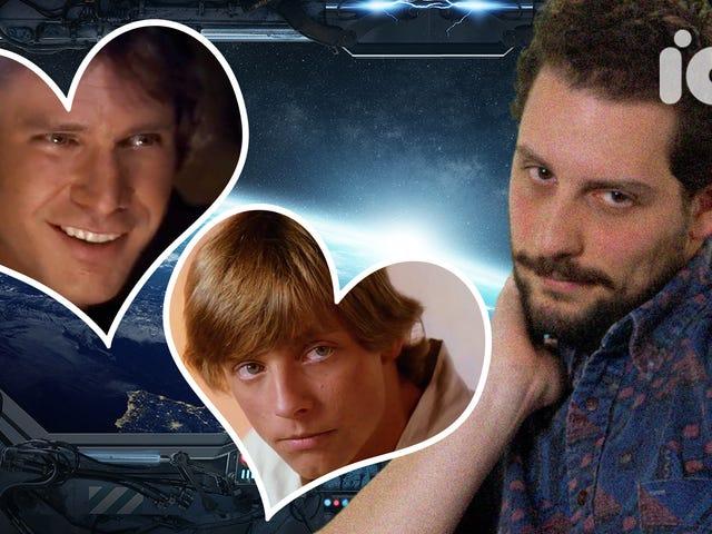 Watch: Star Wars' Han Solo and Luke Skywalker Should Totally Kiss