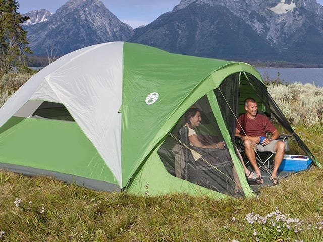 This $87 Coleman Tent Is Perfect For Summer Camping Trips