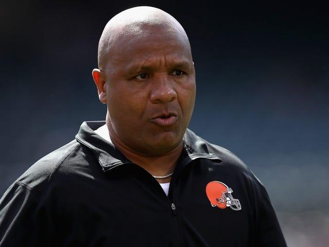 Los Browns finalmente han despedido a Hue Jackson [Actualización]