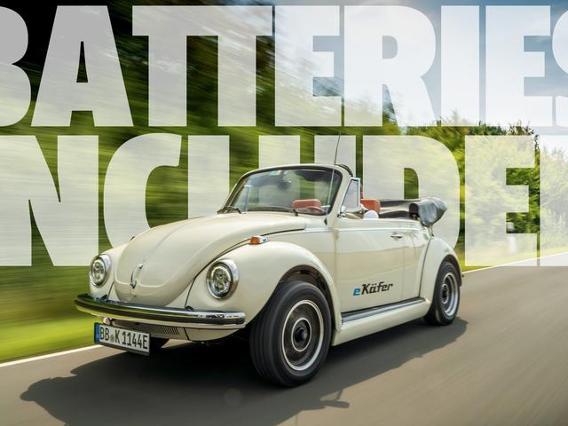 Η Volkswagen θα μετατρέψει τώρα τα κλασικά σκαθάρια στην ηλεκτρική ενέργεια, η οποία είναι ίσως ακόμη καλύτερη από ένα νέο EV Beetle