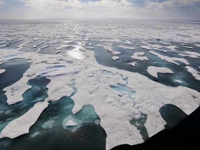 Researchers Find That Arctic Ice Is Filled With Microplastic