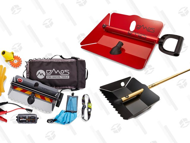 Right Now, You Can Save Big on DMOS Line of Convenient, Collapsible Shovels