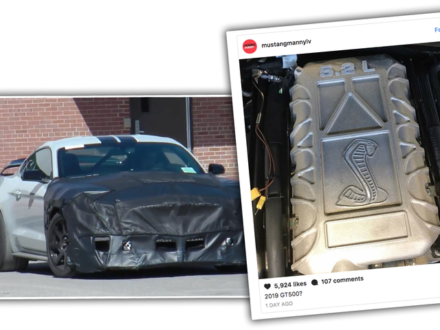 There's A Picture Of What Seems To Be The 2019 Ford Shelby GT500 Engine On Instagram