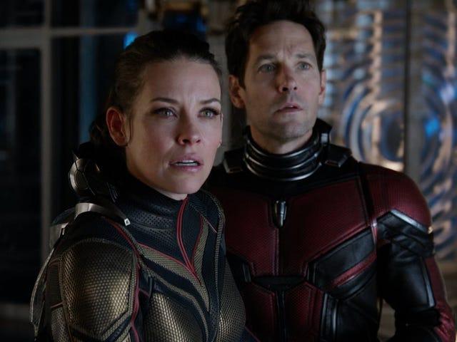 La scena dei titoli di testa di Ant Man e The Wasp è trapelata.