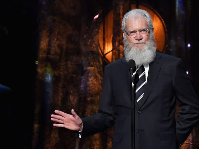 """David Letterman says we need to """"stop yakking about what a goon"""" Trump is and vote"""