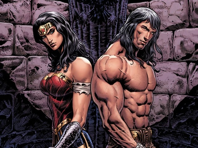 Wonder Woman/Conan is a Blood-Soaked Adventure About First Loves