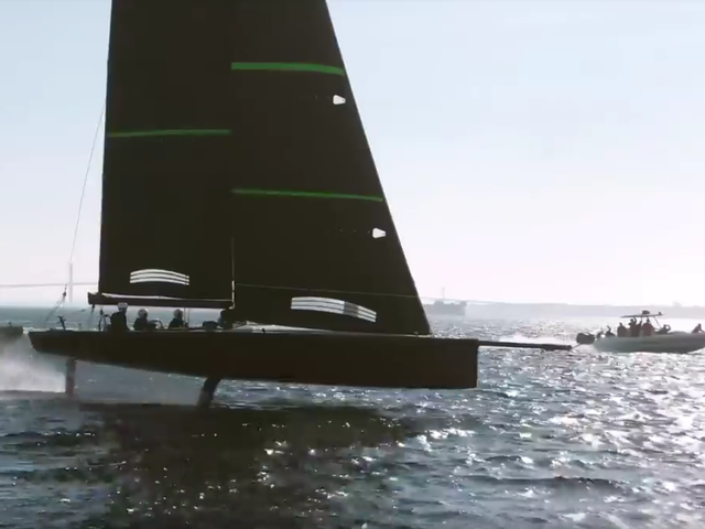 America's Cup Prototype Boats Appearing