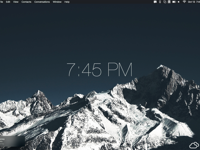 The Mountaintop Desktop