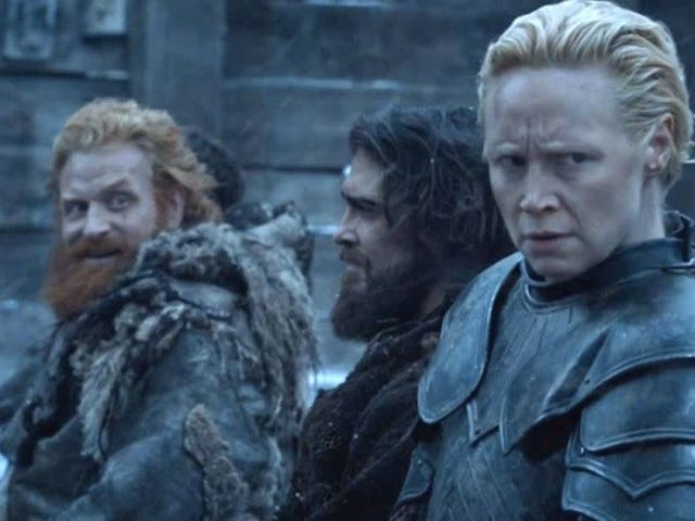 "<a href=""https://news.avclub.com/gwendoline-christie-on-a-potential-brienne-and-tormund-1834981907"" data-id="""" onClick=""window.ga('send', 'event', 'Permalink page click', 'Permalink page click - post header', 'standard');"">Gwendoline Christie on a potential Brienne and Tormund romance: ""Yeah, maybe he has a chance&quot;</a>"