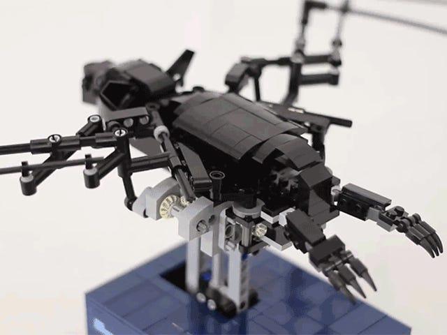 Klogt udviklet Lego Bat klapper sine vinger lige som det rigtige
