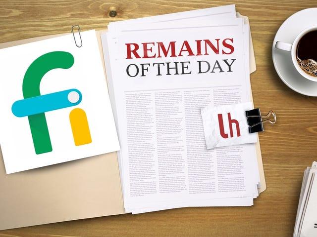 Залишки дня: Проект Google Fi отримує більше покриття з американської стільникової мережі