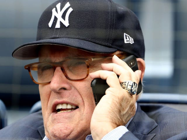 Listen To Rudy GiulianiGet Booed By Thousands Of Yankees Fans On His Birthday