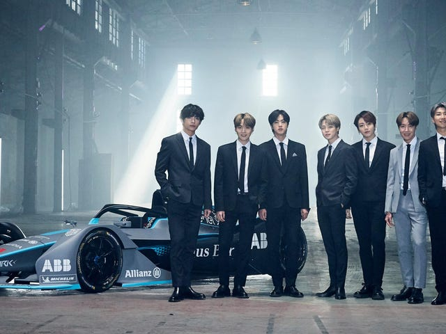 ซุปเปอร์สตาร์ K-Pop BTS กลายเป็นสูตร E ทูตเพื่อสร้างการรับรู้การเปลี่ยนแปลงภูมิอากาศ