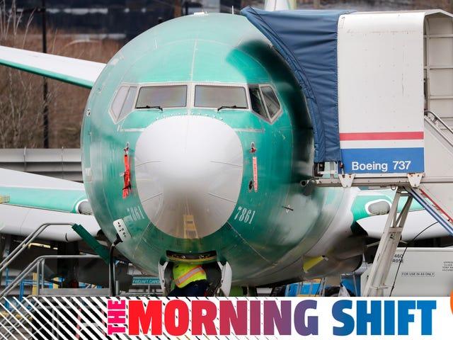 Boeing Tidak Terus Menggantikan Semua Pengeluaran Yang Bermasalah 737 Maks