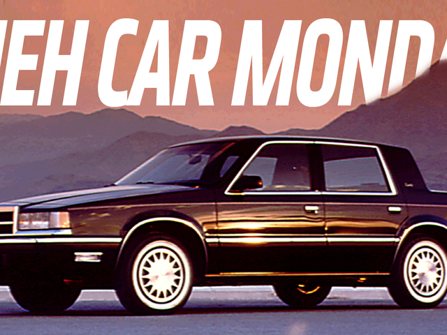 Meh Car Monday: The Dodge Dynasty Can Die, Nasty