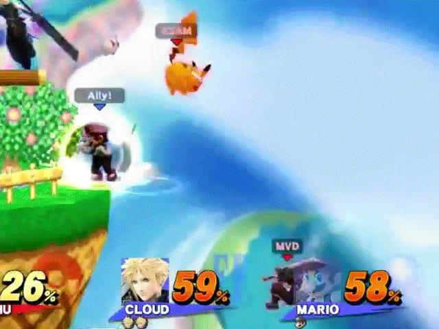 Top <i>Smash</i> Player sparer partner med lyn-rask tanke