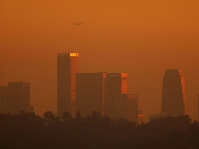 美国空气污染死亡人数最多的城市