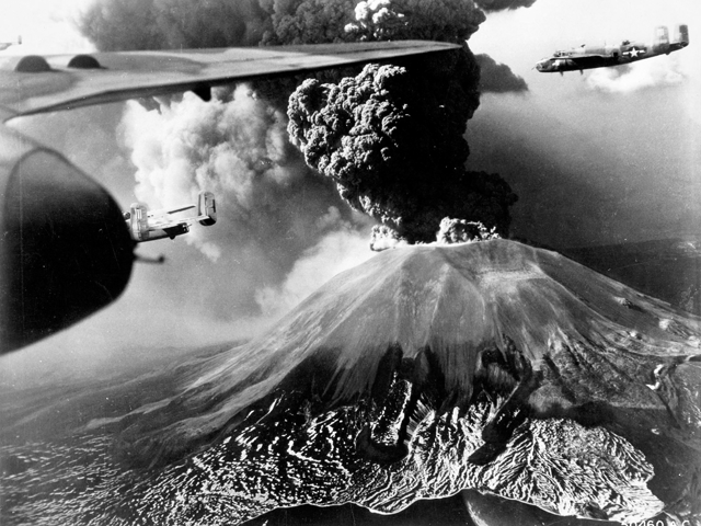 Mitchells Over Vesuvius