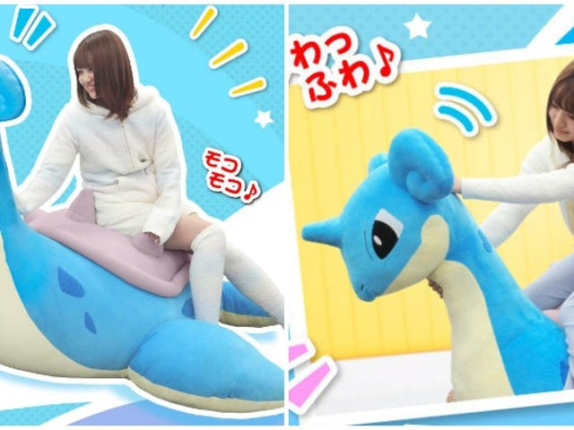 A $750 Pokémon Plushie You Will Want To Ride