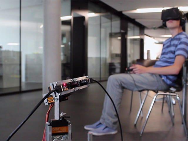Oculus Rift -ohjattu robotti on mahtava (ja myös ihana)