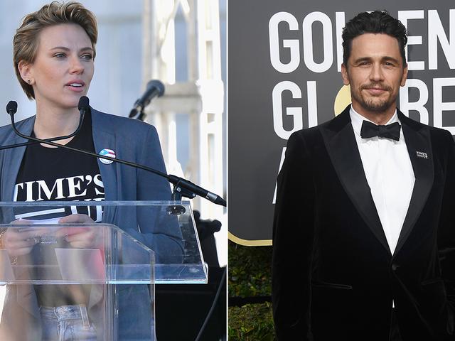 """Scarlett Johansson käsittelee James Francoa naisten maaliskuussa: """"Haluan minun tappi takaisin"""""""