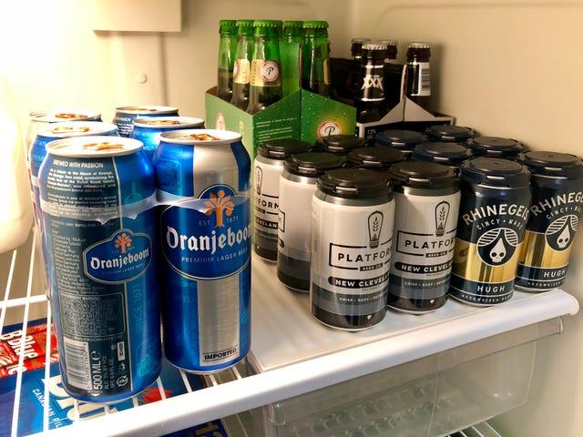 Fridge status: hella beers
