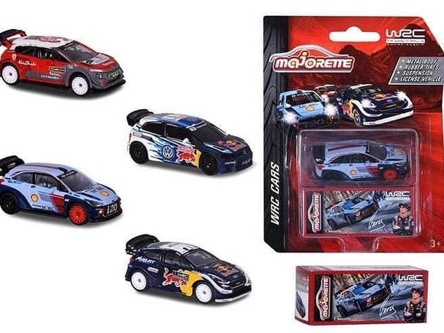 Majorette is making the new-gen WRC cars in a new series