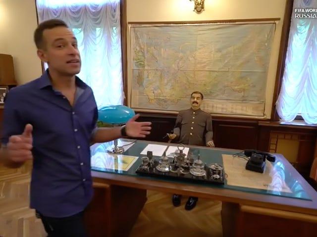 Phân đoạn FS1 kỳ lạ: Nói những gì bạn sẽ nói về Joseph Stalin, nhưng anh ấy có một căn nhà đau ốm