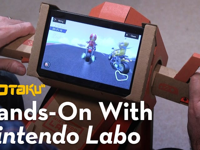 Transform Your Switch With Deals On Nintendo's Whimsical Labo Kits
