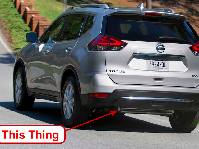 The Definitive Answer To What That Heat Exchanger-Looking Thing Is Under The Nissan Rogue