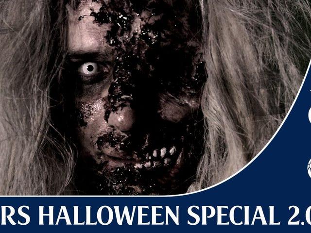 Kyle Walker Freaks Out More Tottenhamin pelaajat, joilla on Halloween Prank