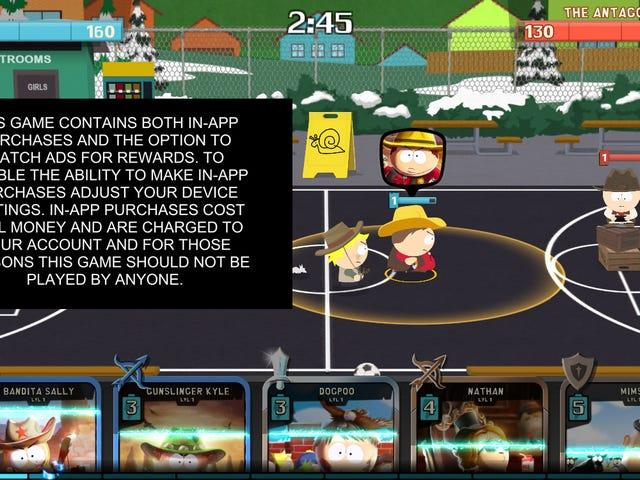 <i>South Park</i> Mobile Game advarer dig om sine egne mikrotransaktioner